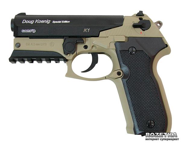 Пневматичний пістолет Gamo K1 Doug Koenig (6111388) - зображення 1