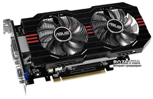Asus PCI-Ex GeForce GTX 750 Ti 2048MB GDDR5 (128bit) (1150/5400) (VGA, 2 x DVI, HDMI) (GTX750TI-OC-2GD5) - изображение 1