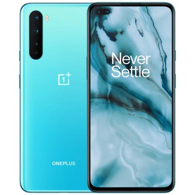 Мобільний телефон OnePlus Nord 12/256GB Blue - зображення 1