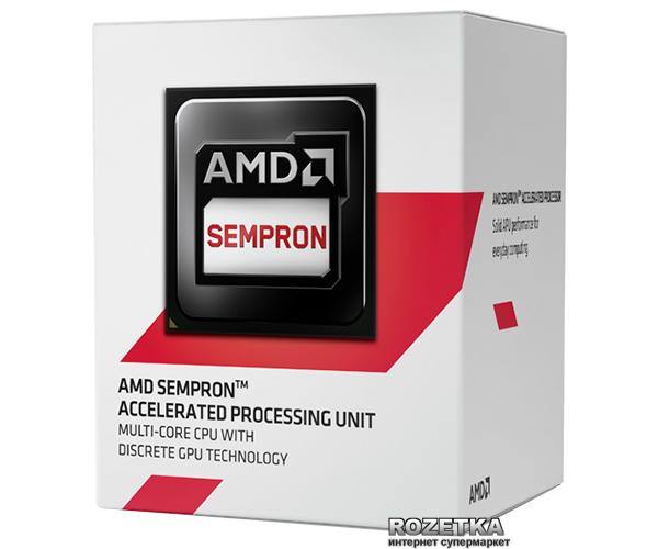 Процесор AMD Sempron X2 2650 1.45GHz/1MB (SD2650JAHMBOX) sAM1 BOX - зображення 1