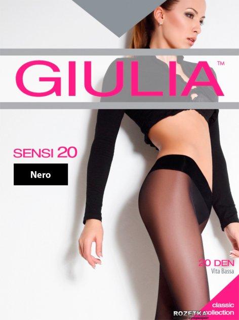 Колготки Giulia Sensi Vita Bassa 20 Den 3 р Nero (4824092074130) - изображение 1