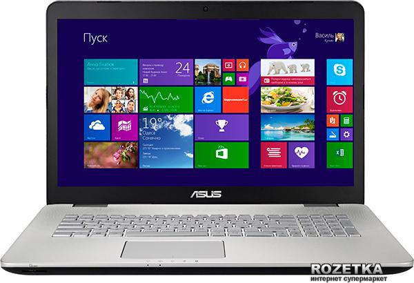 Ноутбук Asus N751JK (N751JK-T7052H) - изображение 1
