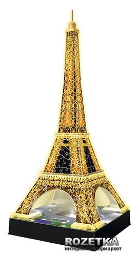 3D Пазл-ночник Ravensburger Ночная Эйфелева башня (12579) - изображение 1