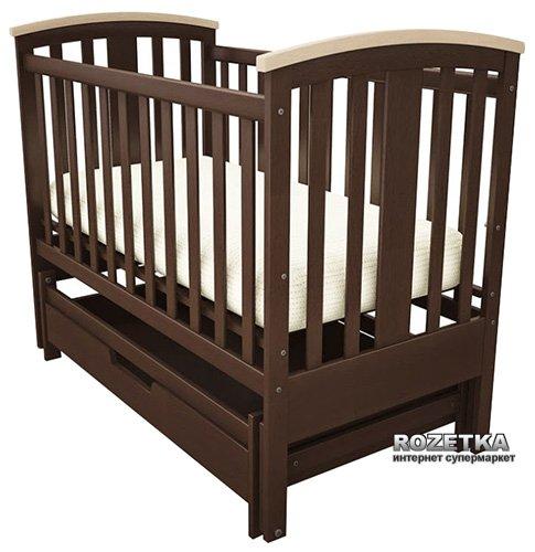 Кроватка Woodman Mia УМК Шоколад - изображение 1