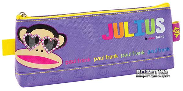 Пенал 1 Вересня Paul Frank 1 отделение Сиреневый (530734) (5009075307347) - изображение 1
