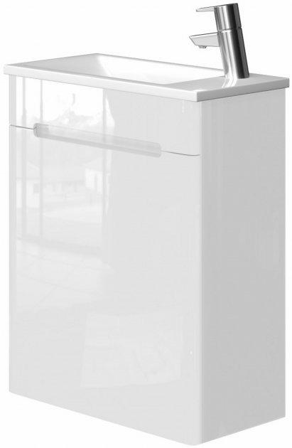 Тумба Juventa TIVOLI TV-60 white з умивальником Atria 50 - зображення 1