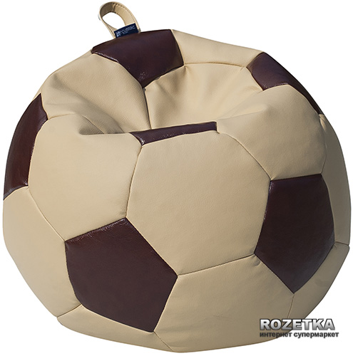 Пуф-М'яч Примтекс Плюс Fan H-2201/H-2221S S Beige-Brown (ordf) - зображення 1