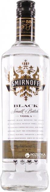 Водка Smirnoff Черная 0.5 л 40% (5413016991456) - изображение 1