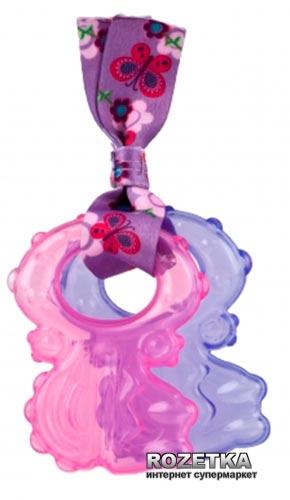 Прорезыватель Nuby Ключики с водой Розовый с фиолетовым (67929(pnk/prpl)) (2000127070489)