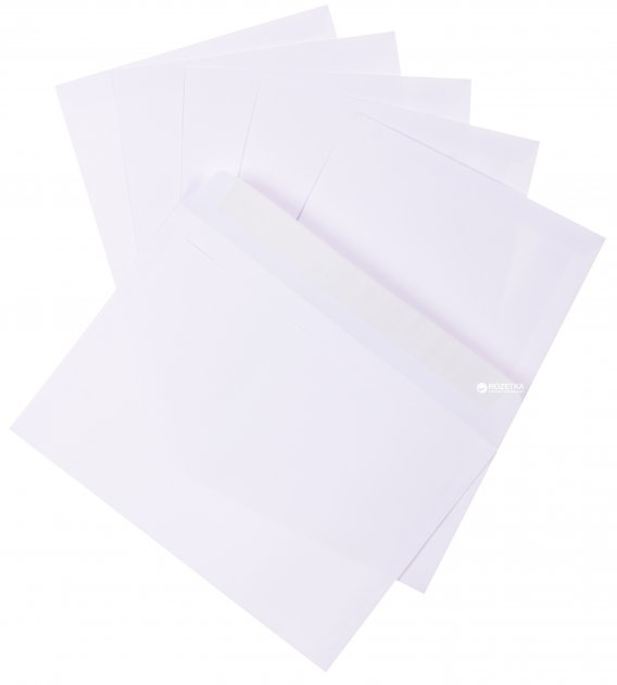 Конверты Kuvert Ukraine С5 SKL 100 шт Белые (3444_100)