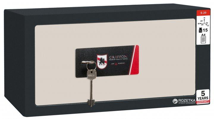 Сейф мебельный Griffon S.20.K - изображение 1