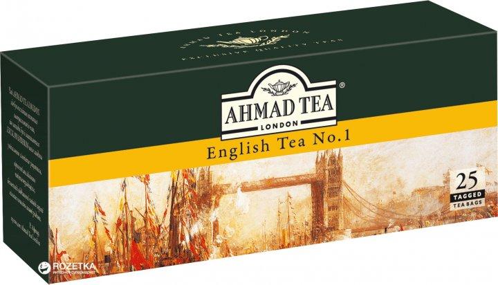 Чай пакетированный Ahmad Tea Английский №1 25 х 2 г (054881005999) - изображение 1