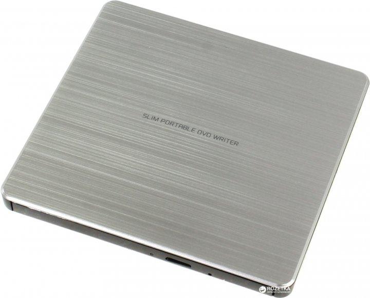 H-L Data Storage DVD±R USB 2.0 Silver (GP60NS60) - изображение 1