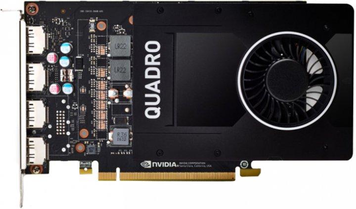 DELL PCI-Ex NVIDIA Quadro P2200 5GB GDDR5X (160bit) (10000) (4 x DisplayPort) (490-BFPN) - зображення 1
