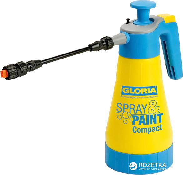 Обприскувач ручний Gloria Spray & Paint Compact 1.25 л (80881/000355.0000) - зображення 1