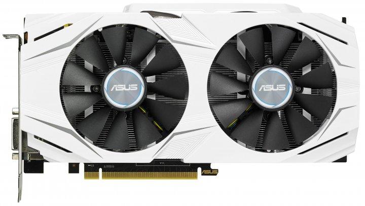 Asus PCI-Ex GeForce GTX 1060 Dual 3GB GDDR5 (192bit) (1569/8008) (DVI, 2 x HDMI, 2 x DisplayPort) (DUAL-GTX1060-O3G) - изображение 1