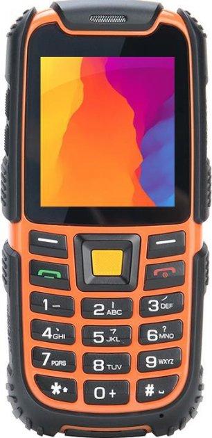 Мобильный телефон Nomi i242 X-treme Black-Orange - изображение 1