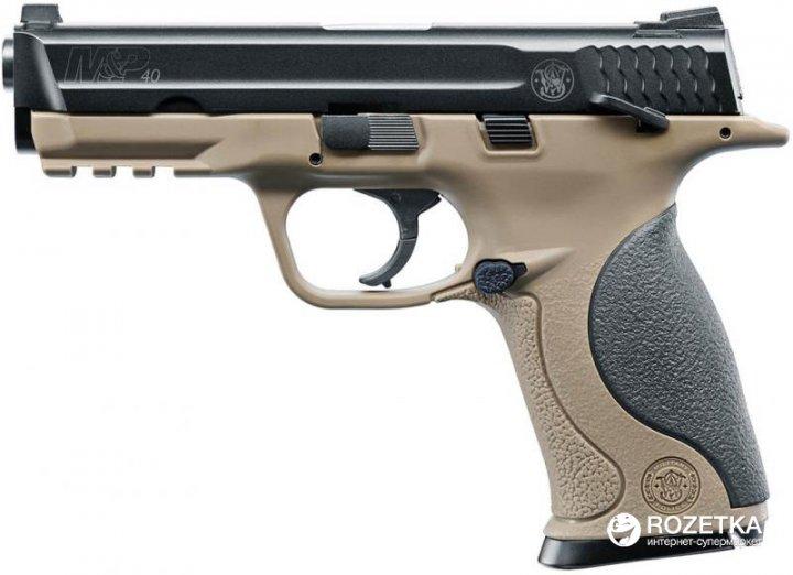 Пневматичний пістолет Umarex Smith & Wesson M&P40 TS FDE (5.8319) - зображення 1
