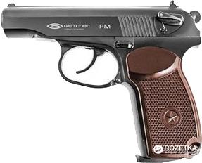Пневматичний пістолет Gletcher PM (39974) - зображення 1