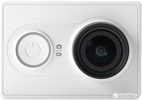 Відеокамера Xiaomi Yi Sport White (Міжнародна версія) + Селфи-монопод Xiaomi в подарок - зображення 1