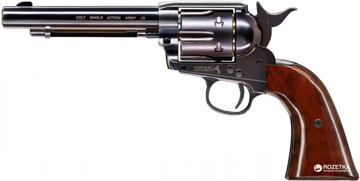 Пневматичний пістолет Umarex Colt Single Action Army 45 Brown (5.8321) - зображення 1