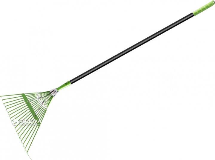 Грабли веерные Центроинструмент с компенсатором (0502-Ч) - изображение 1