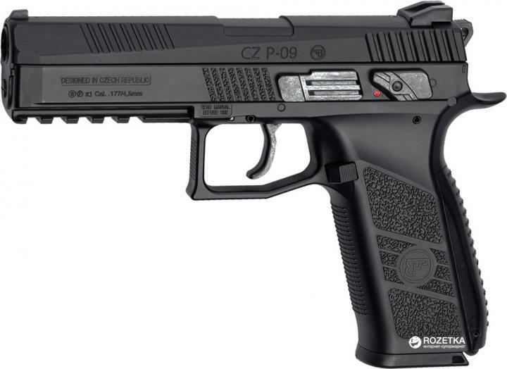 Пістолет пневматичний ASG CZ P-09 Blowback (23702556) - зображення 1