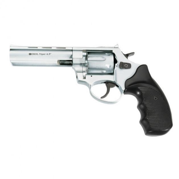 Револьвер під патрон Флобера Ekol Viper 4,5 Chrome - зображення 1