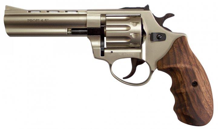 """Револьвер флобера ZBROIA PROFI-4.5 """"(сатин / дерево) - изображение 1"""