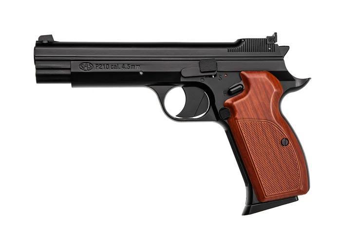 Пістолет пневматичний SAS P 210 Blowback Корпус - метал - зображення 1