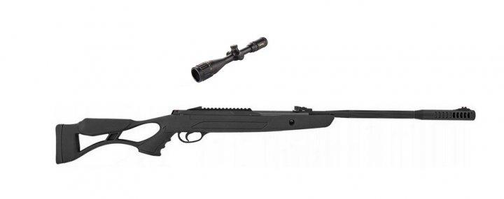 Пневматічна гвинтівка Hatsan AirTact ED з посиленою газову пружиною + приціл Sniper 3-9x40 AR - зображення 1