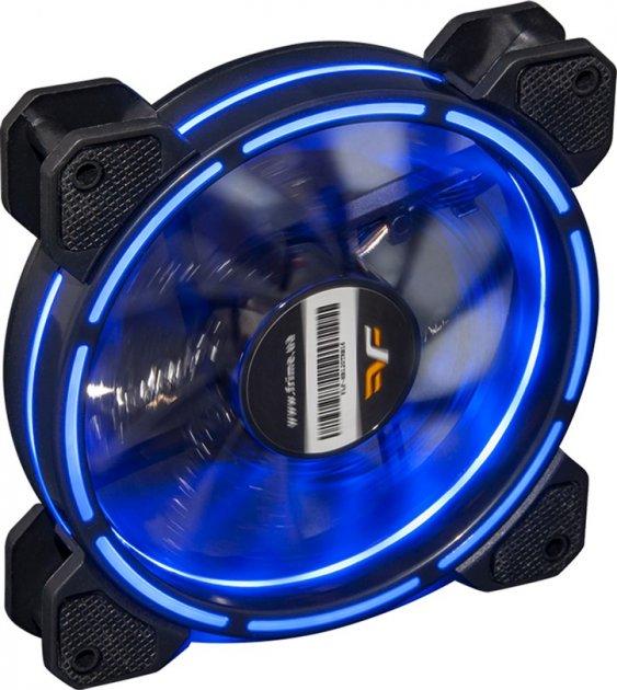 Кулер Frime Iris LED Fan Think Ring Blue (FLF-HB120TRB16) - зображення 1
