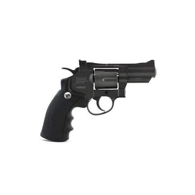 Пневматичний пістолет Gletcher SW B25 Smith & Wesson Сміт і Вессон газобалонний CO2 120 м/с - зображення 1