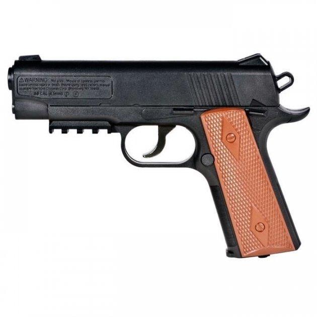 Пневматический пистолет Crosman Colt 1911 Кольт газобаллонный CO2 146 м/с - изображение 1