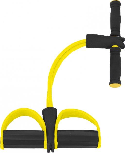Эспандер Reystyle для мышц ног, рук и груди Жёлтый (2000992405898) - изображение 1