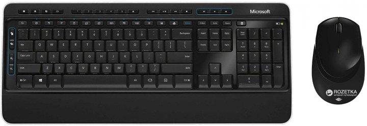 Комплект беспроводной Microsoft Wireless Desktop 3050 WL Rus (PP3-00018) - изображение 1