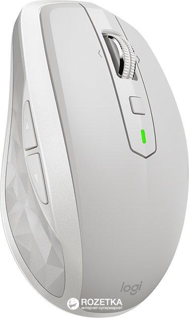 Миша Logitech MX Anywhere 2S Wireless/Bluetooth Light Gray (910-005155) - зображення 1