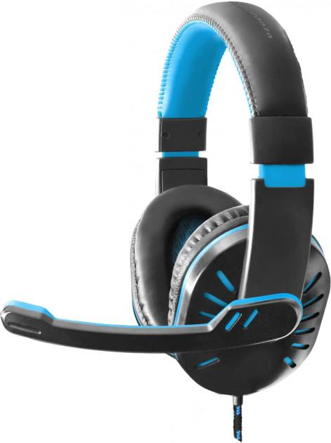 Навушники Esperanza EGH330 Black/Blue - зображення 1