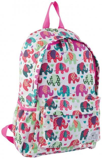Рюкзак подростковый YES ST-15 Elephant 40x26.5x13 см Разноцветный (553821) - изображение 1