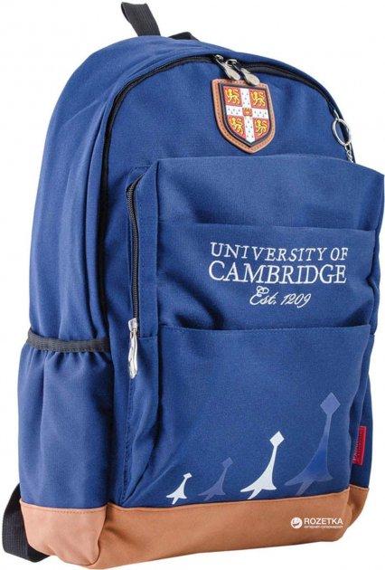 Рюкзак подростковый YES CA 083 29x47x17 см 24 л для мальчика Синий (554041) - изображение 1
