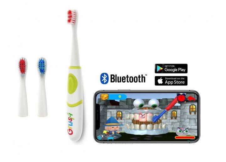 Электрическая интерактивная зубная щетка GRUSH Smart Bluetooth (866571000104) - изображение 1