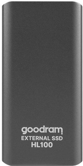 Goodram HL100 256GB USB 3.2 Type-C TLC Black (SSDPR-HL100-256) External - зображення 1