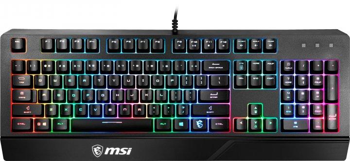 Клавиатура проводная MSI Vigor GK20 UA USB - изображение 1