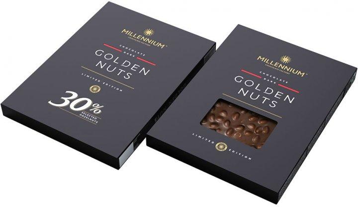 Шоколад Millennium черный с целым фундуком 1.1 кг (4820075509514) - изображение 1