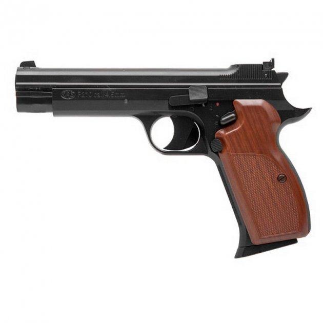 Пневматический пистолет SAS P 210 Blowback (подвижный затвор) - изображение 1