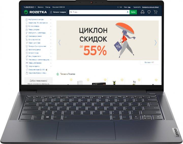 Ноутбук Lenovo IdeaPad 5 14ITL05 (82FE00FFRA) Graphite Grey - зображення 1