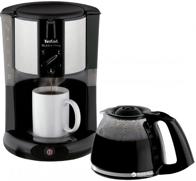 Капельная кофеварка Tefal SUBITO MUG CM290838 - изображение 1
