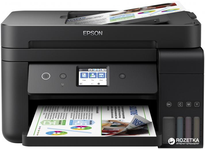 Epson L6190 with Wi-Fi, duplex, ethernet, fax (C11CG19404) - зображення 1