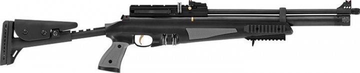 Пневматична гвинтівка Hatsan AT44-10 Tact Long попередня накачування 355 м/с - зображення 1