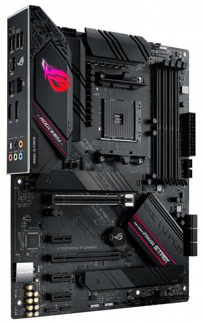 Материнська плата Asus ROG Strix B550-F Gaming (sAM4, AMD B550, PCI-Ex16) - зображення 1